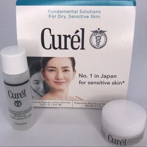 5/$25 Curel Facial Lotion & Cream New Travel Sz